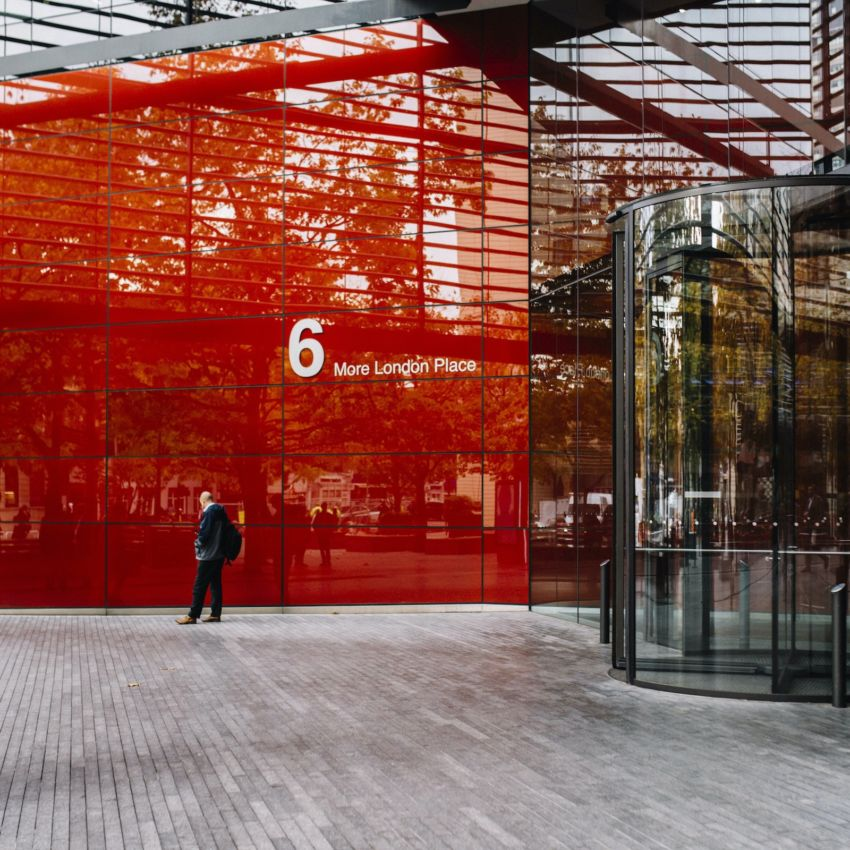 6 More London Red Entrance