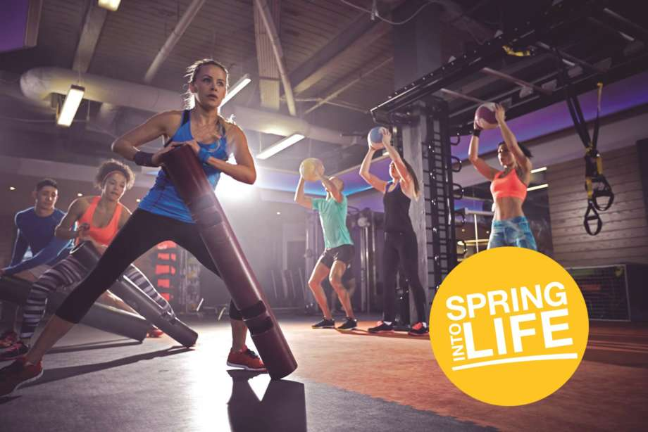 Fitness First Spring Into Life