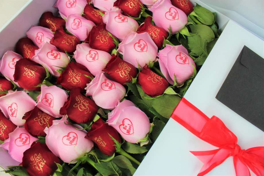 Imperial Touch Roses with printing