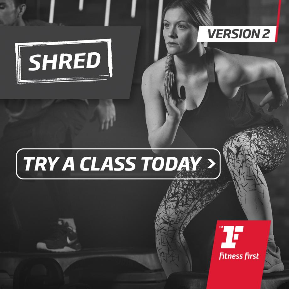Shred  Facebook1200X1200 V2 Step Up