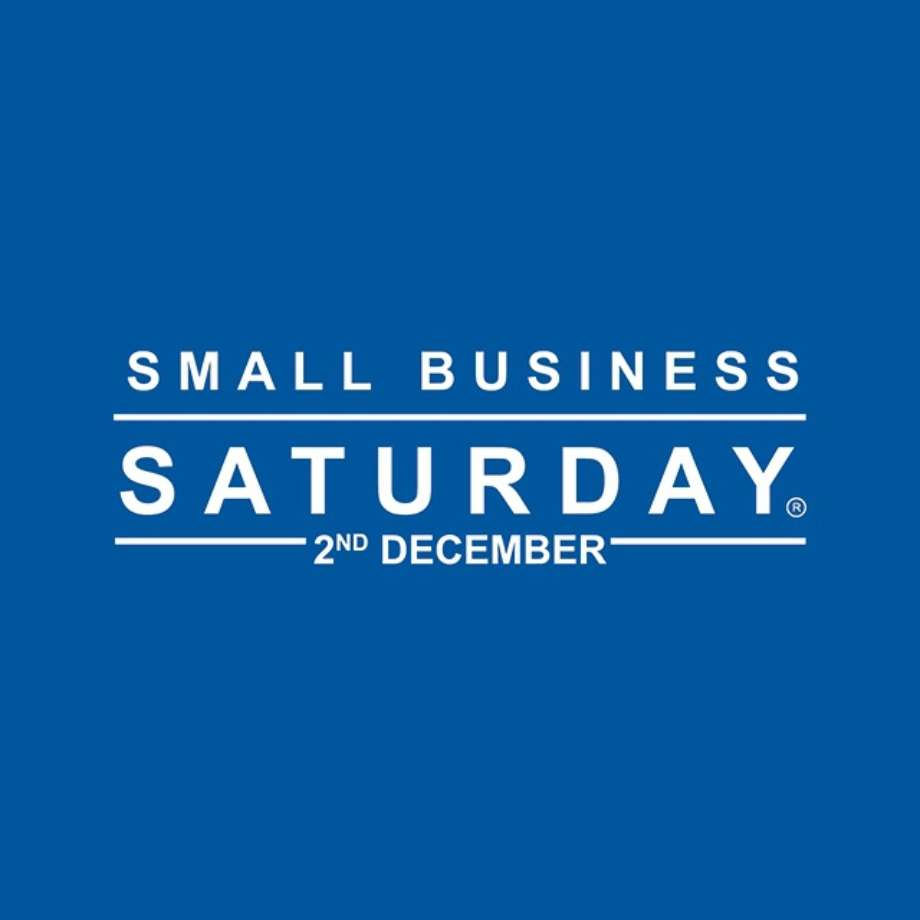 Small Business Saturday Uk 2017 Logo English Blue
