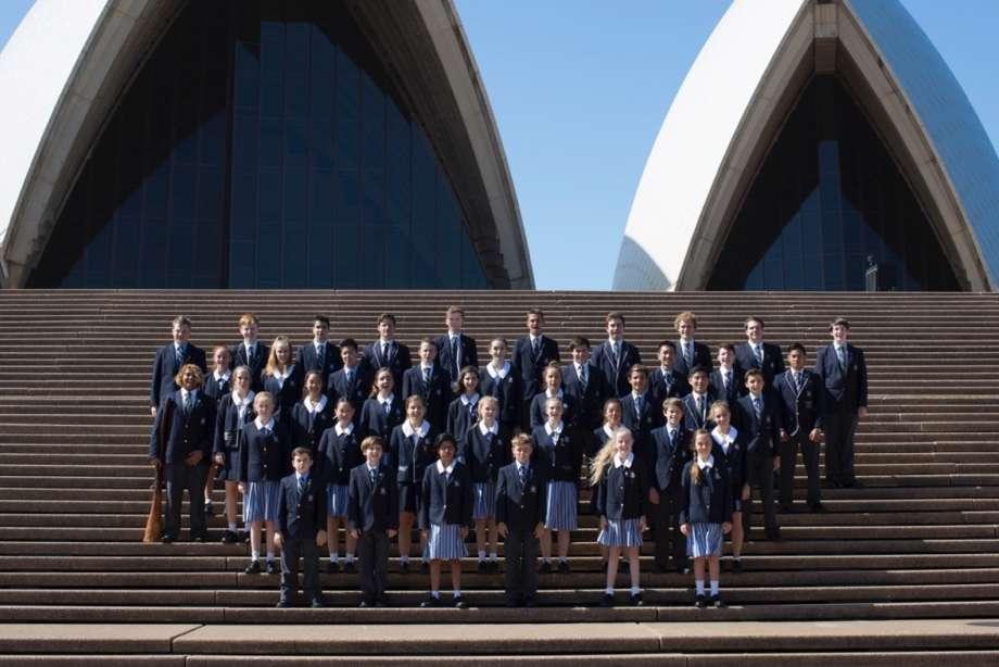 St Andrews Choir in Sydney
